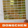 Collant fait sur commande de l'hologramme 2D/3D de rectangle, étiquette de l'hologramme 2D/3D