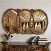 Antiguidade original espelho decorativo quadro da decoração da parede do espelho da parede do espelho