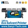 impresora grande de la inyección de tinta del 1.8m con la cabeza de impresión Dx5