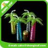 A árvore de coco dada forma projeta o copo plástico da jarda da novidade para a promoção
