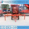 Grande table élévatrice hydraulique de capacité de charge avec facile à déménager