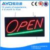Retângulo de Hidly a caixa aberta do sinal do diodo emissor de luz de Ásia
