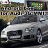 HD Car Multimedia Camera Interface vidéo GPS pour Audi A7, A8, Q3, Q5, Q7