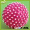 A esfera do ponto da cor-de-rosa do cão de animal de estimação brinca produtos do animal de estimação