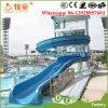 Diapositiva adulta usada del parque del agua de la fibra de vidrio para la venta