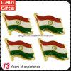Изготовленный на заказ штыри отворотом флага Индии металла