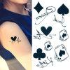 Временно Tattoo, крышка Tattoo смешанных стикеров искусствоа тела пер кроны съемная водоустойчивая временно метка для женщин