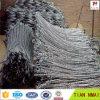 ステンレス鋼ワイヤーロープの網斜面の消極防護システム