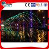 Fontaine laminaire de musique de décoration colorée de l'eau