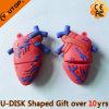 Memória Flash humana do USB da forma do coração dos presentes feitos sob encomenda (YT-Coração)