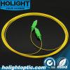 Sc RPA de Patchcord de fibre au jaune recto de Sc RPA 0.9mm