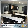 Bancada branca de quartzo para a cozinha interna