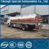 Caminhão de tanque da liga de alumínio de Shanqi 8X4 da movimentação da mão esquerda