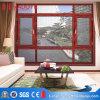Europäischer Standard-Doppelverglasung-Aluminiumflügelfenster-Markisen-Fenster mit Netz