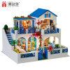 El otro tipo educativo casa de los juguetes de muñeca con la luz