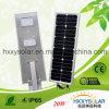 3 años de la garantía de luz de calle solar integrada 20W