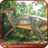 Dinossauro de anúncio atrativo do parque de diversões