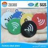 Tag RFID sec de roulis d'anti puce de papier en métal NFC Ntag213