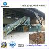 Máquina de recicl automática hidráulica horizontal para papel ondulado