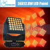 36X12.8W RGBW Quad Osram Stage Lighting Panel