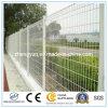 PVC上塗を施してある金網の塀または庭の塀か防御フェンス