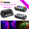 Sales caldo Spider Effect 8X10W LED Stage DJ Light