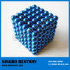 Blauwe Qqmag/Neocube/Buckyball/7mm Neocube