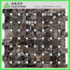 Mosaico scuro naturale Polished Basketweave (crema) (FLS-953) di Emperador
