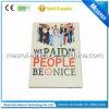 Tarjeta doblada del papel Tipo de producto 4.3inch Video Book Folleto