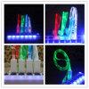 Кабель света освещения заряжателя Sync данным по кабеля USB цвета 1m СИД микро- для галактики S3 S4 HTC Samsung