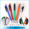 Colorful promotionnel Ballpoint Pen avec Black Clip