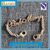 Chainの金属Name Plate Label