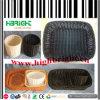 Cassa di plastica del cestino di immagazzinaggio del rattan dei pp