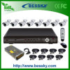 8PCS kabeltelevisie Camera Outdoor DVR Kit van Weatherproof IRL (-8108V8RI)