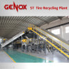 завод по переработке вторичного сырья/System 5000kg/Hr Tire