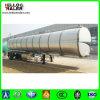 3 petroleiro de alumínio do eixo 42000L para o petróleo comestível do transporte