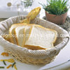 Beautiful Dinner Lined Willow Bread Tray