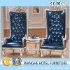 贅沢な革が付いている5つの星のホテルのロビーの残りの余暇の椅子
