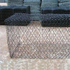 PVC Coated Green 1X1X2m Gabion Box