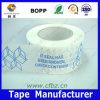 Las etiquetas engomadas adhesivas borran el pegamento de empaquetado del blanco de la cinta de BOPP
