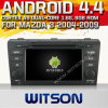 マツダ3 (W2-A7522)のためのWitson Android 4.4 System Car DVD