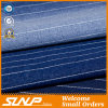 2016 вертикальных Striped хлопков простирания/ткань джинсовой ткани полиэфира