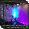 白いLEDの星のカーテン