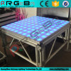 indicatore luminoso di Digitahi Dance Floor della fase di 1.22mx1.22m LED