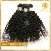 巻き毛100%のペルーのバージンのRemyの人間の毛髪(WW-11)