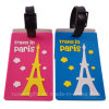 PVC Travel Luggage Tag (LT020)