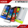 Mtk 6572 1.2g megaciclo Dual Core Android 4.2 Fashion Smart Phone