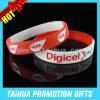 Wristband riempito inchiostro di Debossed del braccialetto del silicone di promozione (TH-08873)