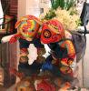 Медведь пар кукол искусствоа ткани подарков праздника