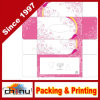 Rectángulo de papel de empaquetado del tejido de encargo del OEM Custiomized (1248)